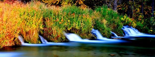 pine creek fall colors