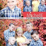 hatch kids with fall leaves background