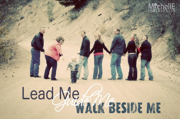 leadmeguidemewalkbesideme