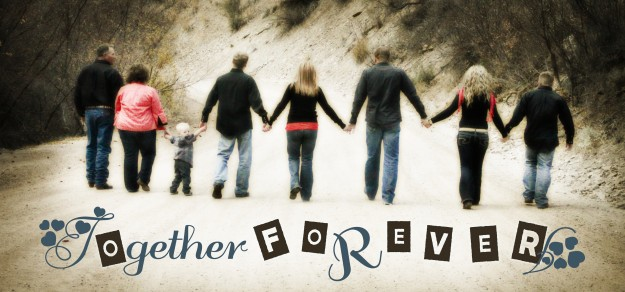 Together Forever Mixed Text Design