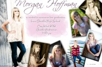 senior graduation announcement  ||  cokeville wy designer
