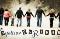 together forever family poster {popes}  ||  cokeville wy designer
