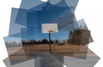 Hockney Style – Basketball Hoop