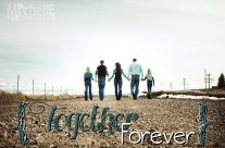 together forever poster {teicherts}  ||  cokeville wy photo designer