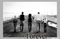 together forever family poster {teicherts}  ||  cokeville wy photo designer